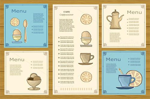 all menu set template