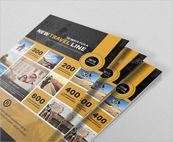 amazing email flyer template for travel promotion1