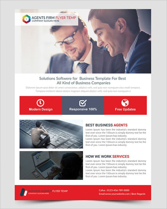 Free business flyer templates datariouruguay accmission Images