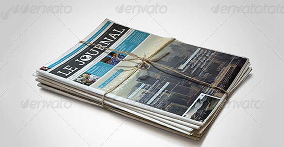 amazing newspaper article template 12