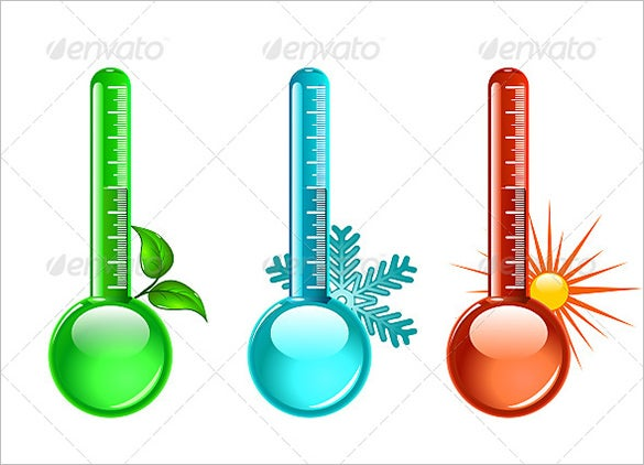 amazing psd thermometer template 5