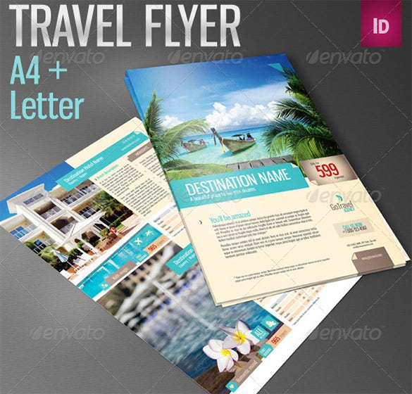 amazing psd travel flyer 7