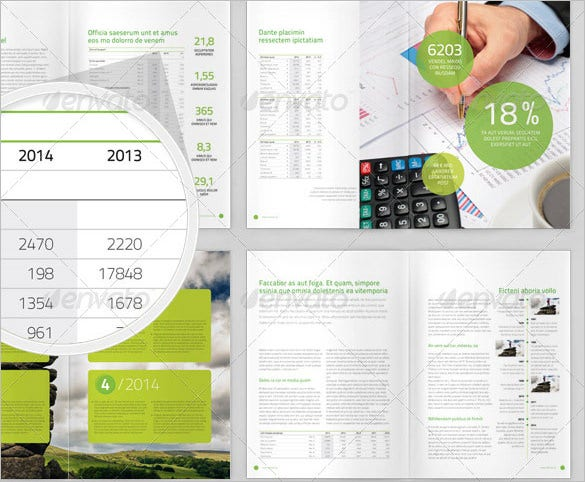 annual report a4 brochure maker free online 12