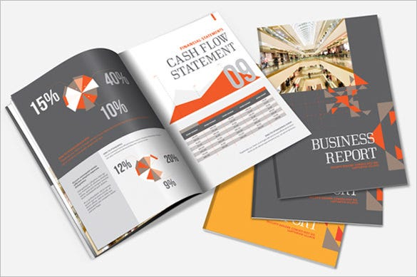annual report brochure template1
