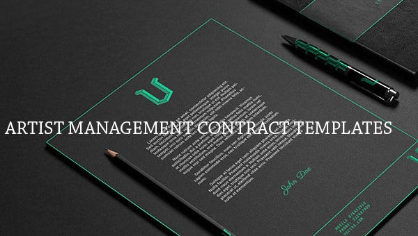 artistmanagementcontracttemplates