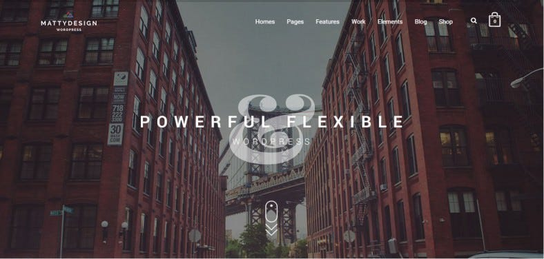 Awesome Visual Composer Drag 'n Drop Wp Theme