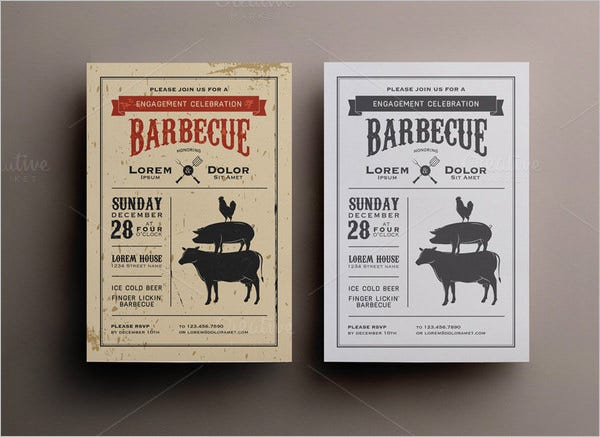 bbq invitationttemplate loremdollar