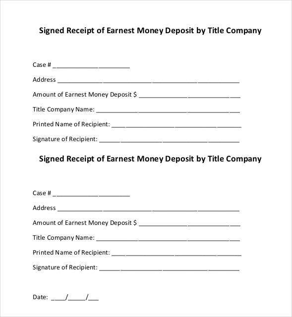 30+ Money Receipt Templates - DOC, PDF | Free & Premium Templates