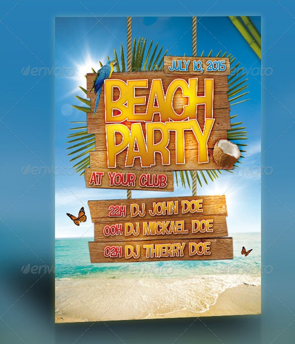 beach party flyer 6
