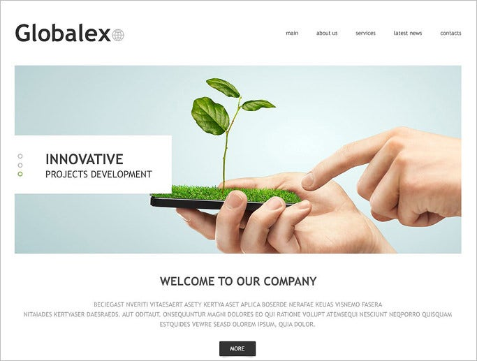 beautiful joomla template for business agency