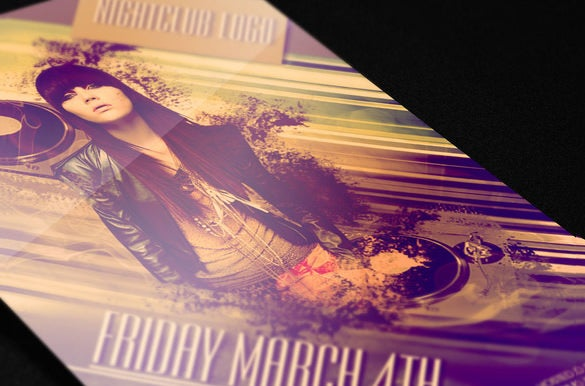 beautiful night club email flyer template 6