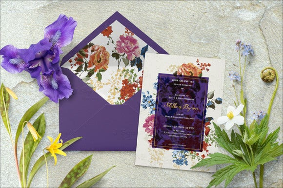 beautifully designed a7 envelope template