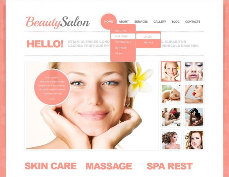 beauty salon joomla template 2 788x611