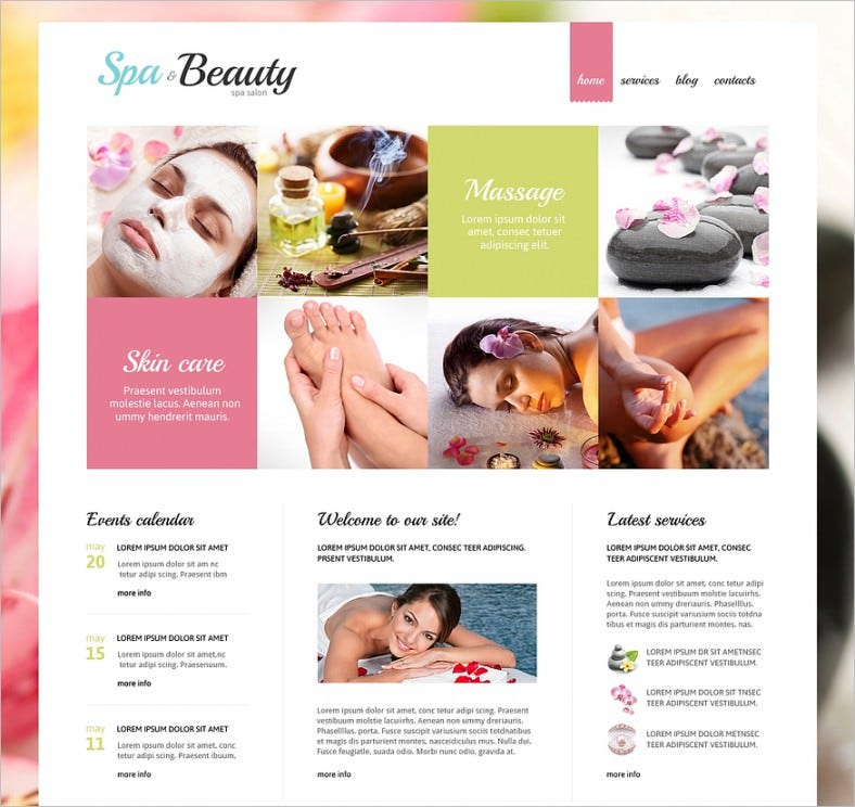 beauty salon responsive joomla template 788x744