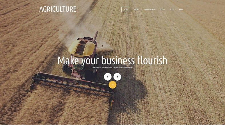 Best Agricultural Organization Joomla Template