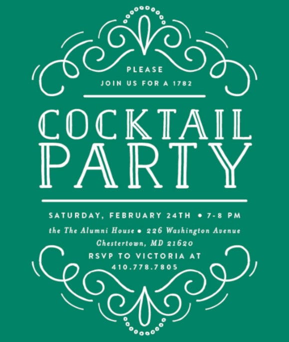 best cocktail party invitation template