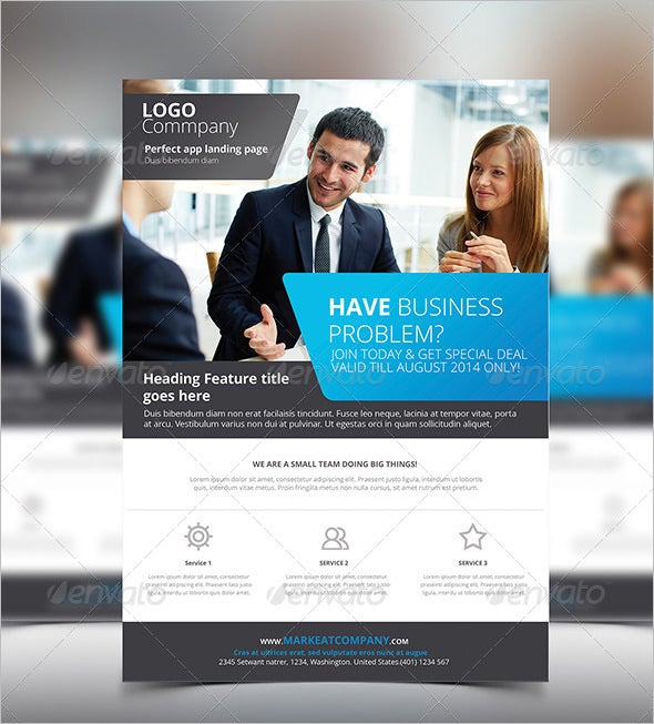22 company flyer templates psd eps word files download free