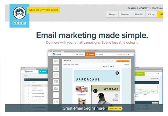 best emma mail marketing software