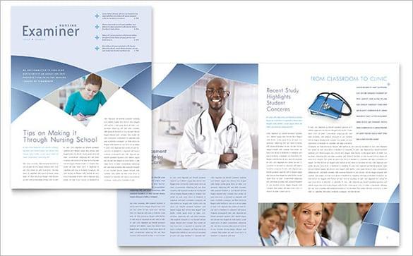 best nursing school classroom newsletter template