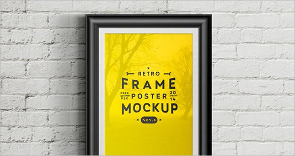 best psd frame mockup template