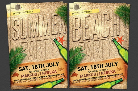 best picnic flyer template 7