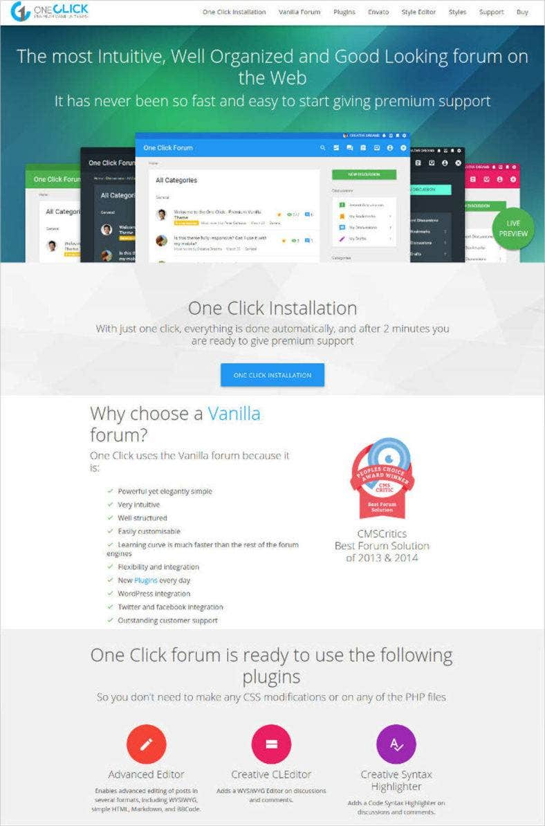 best-premium-forum-vanilla-theme