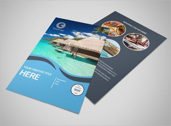 best travel flyer template download1