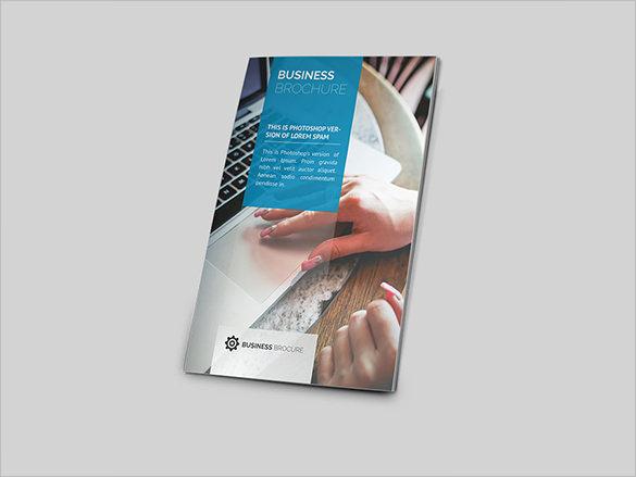 bi fold psd modern brochure template
