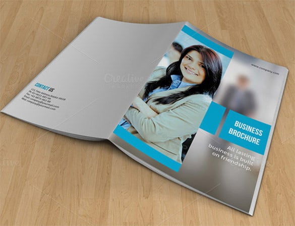 bifold brochure for business v07