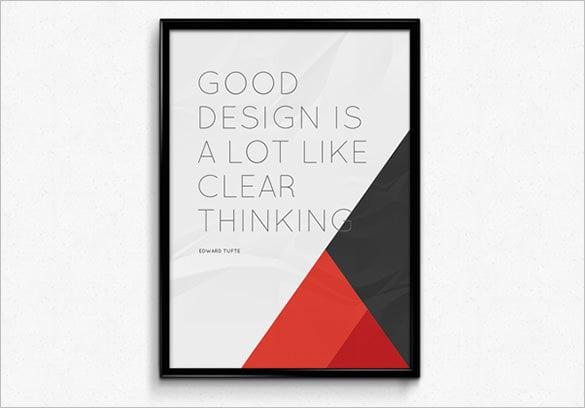 18+ Poster Frame MockUps & Designs - PSD | Free & Premium Templates