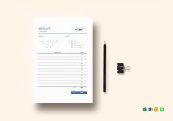 blank receipt template5