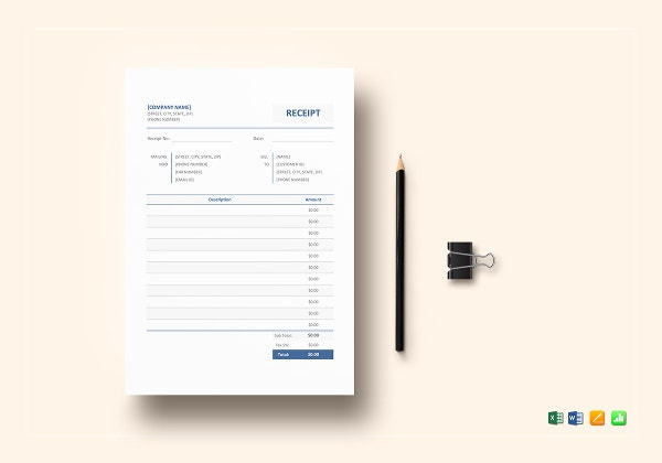blank receipt template8