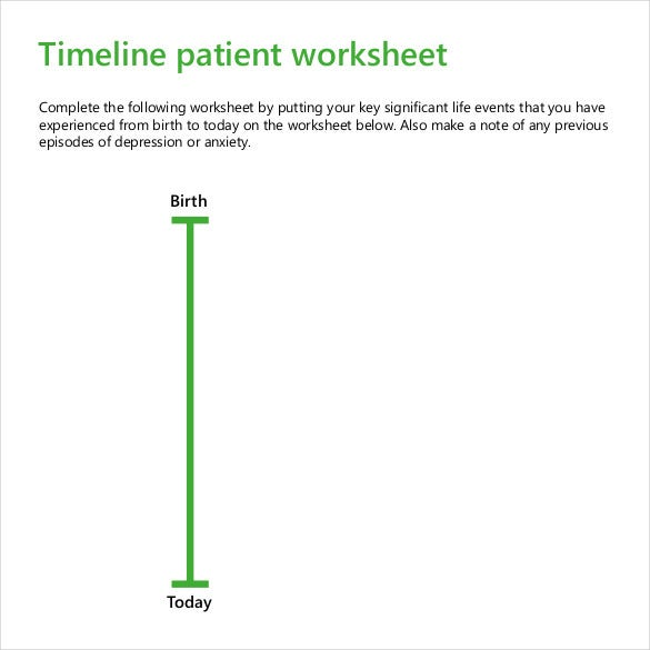 Blank Timeline Template   Free Psd Word Pot Pdf Documents