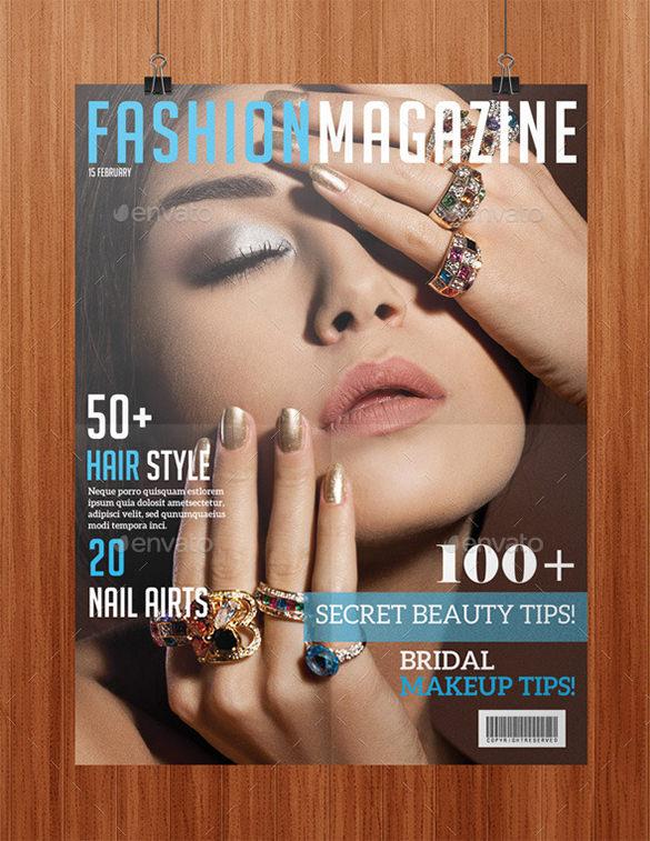 breath taking magazine cover psd 4