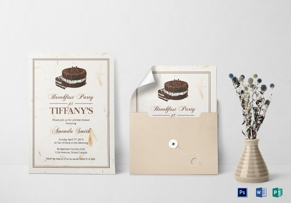 bridal-shower-breakfast-invitation-template