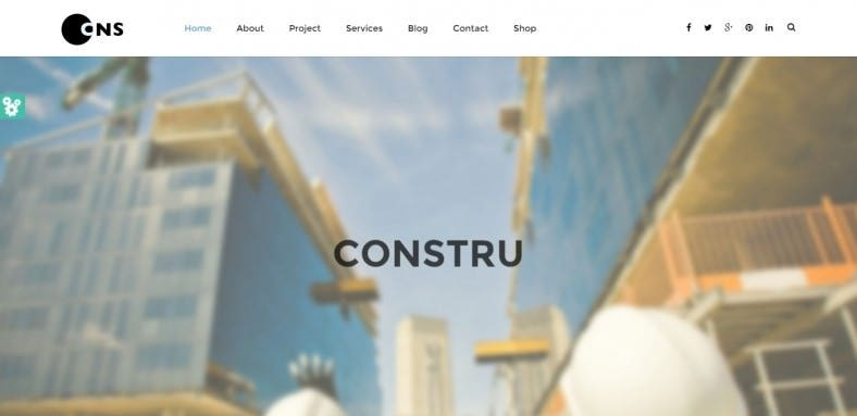 build construction html template 788x383
