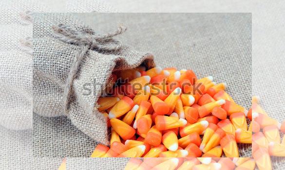 burlap bag candy cane template