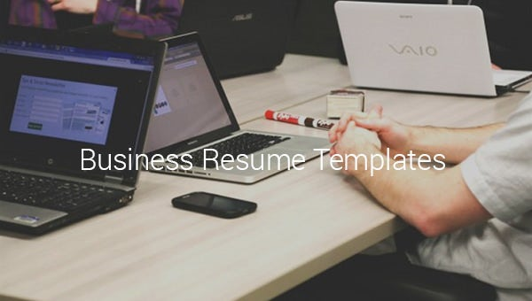 businessresumetemplates