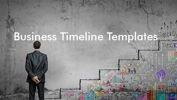business timeline templates
