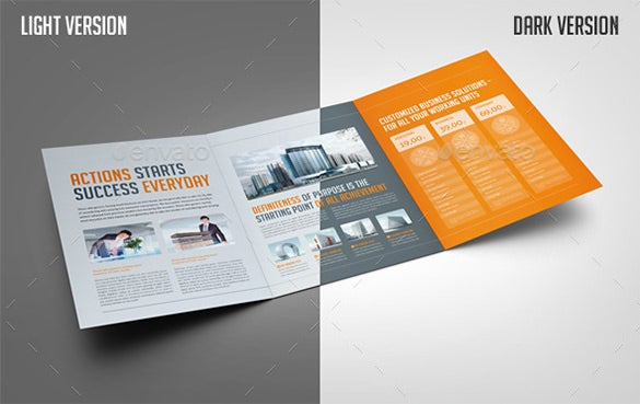 tri fold business brochure template - 37 corporate brochure templates psd designs free