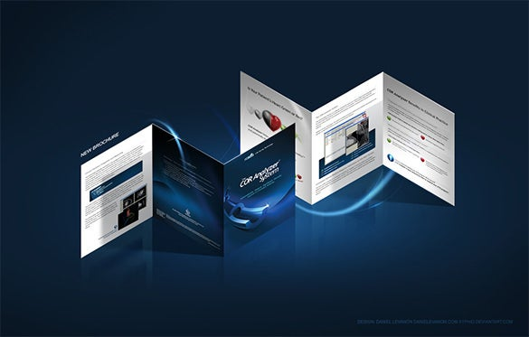 cor analyser brochure template