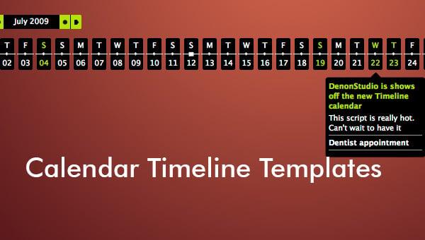 calendartimelinetemplates