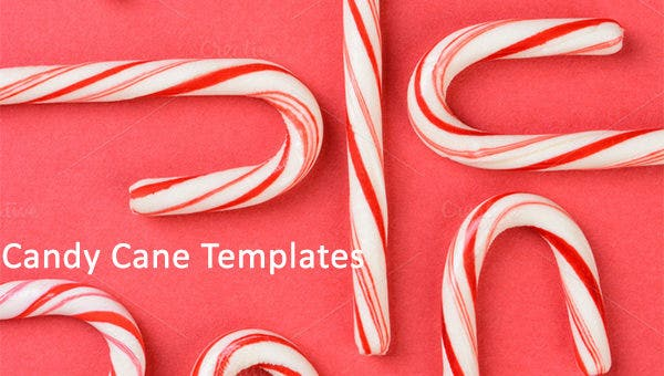 candy cane templates