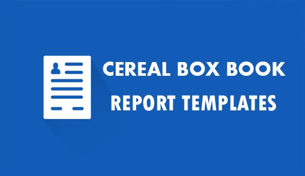 cerealboxbookreporttemplates