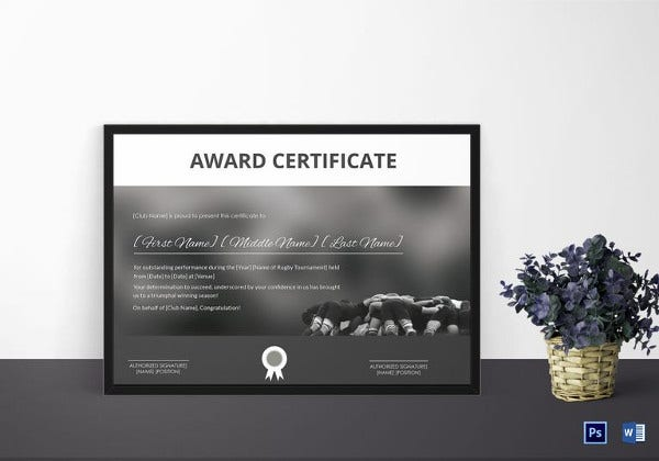 certificate-of-award-template