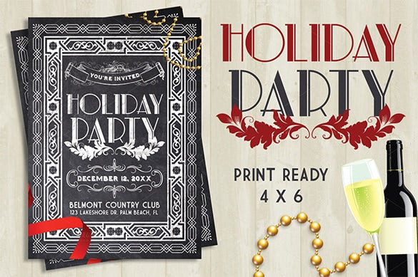 23 Holiday Party Flyer Templates Psd Designs Free Premium
