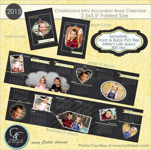 chalkboard psd calendar template