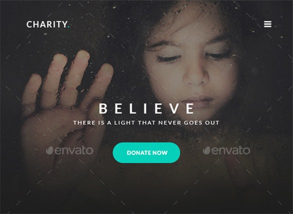 charity blank email template