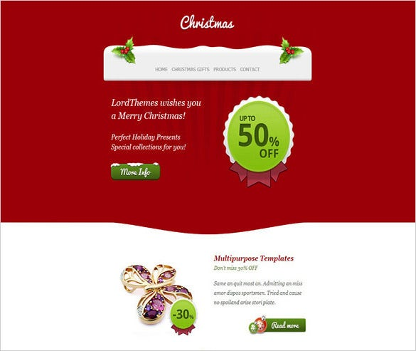 21 Psd Email Templates Designs Psd Png Vector Eps Free