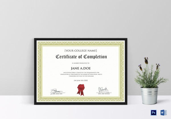 diploma certificate template 30 free word pdf psd eps